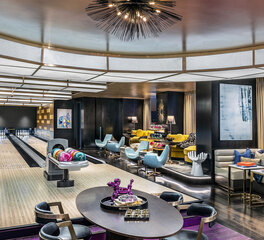 Kingpin Suite with Bar and Bowling Alley at Palms Casino Resort