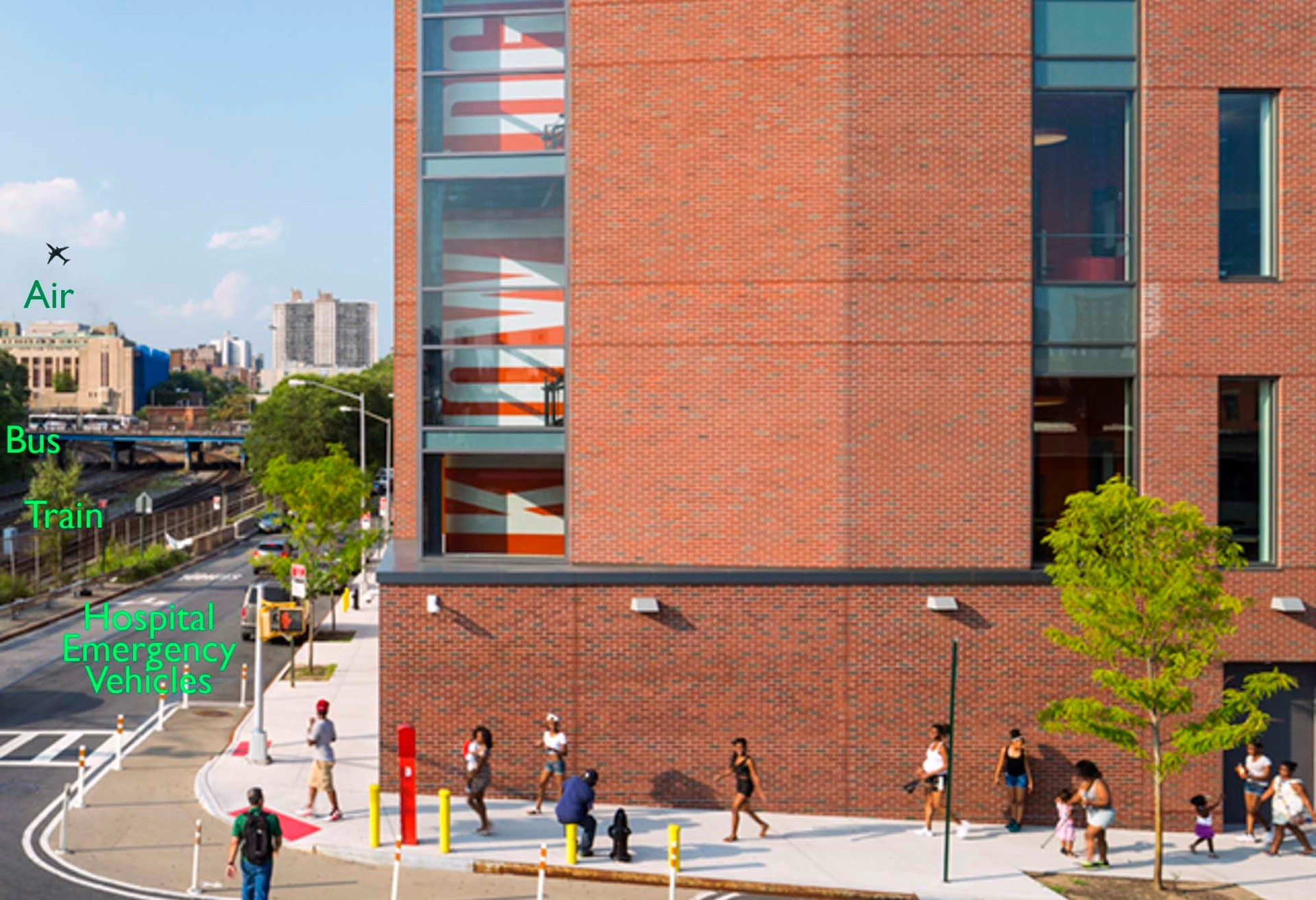The KIPP Charter School utilizes 167 fixed triple glazed windows to help create an excellent learning environment by keeping New York City's urban noise out.