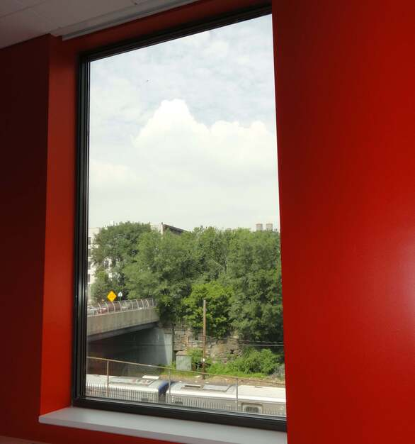 SCW960 fixed windows keep New York City's urban noise out while providing excellent environment for learning inside.