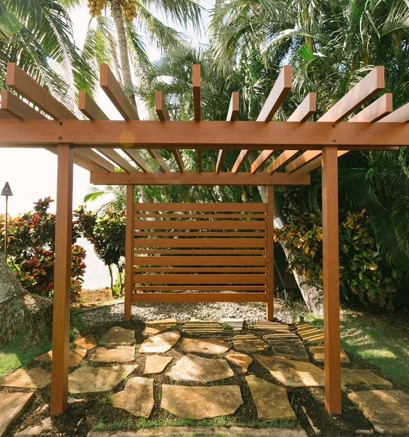 Beautiful Pergola made from Knotwood