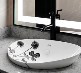 Kohler Hospitality Design Saint Kate Arts Hotel Sink Matte Black