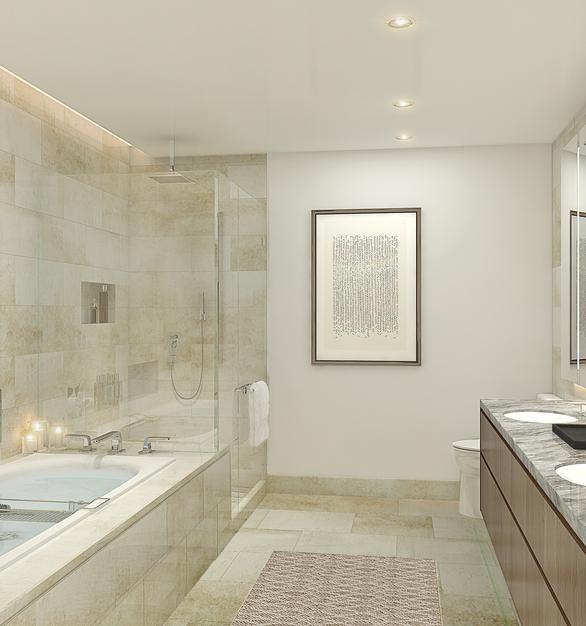 Kohler Kallista Vista Tower Unit 3 Level 25 Master Bathroom Option Topaz