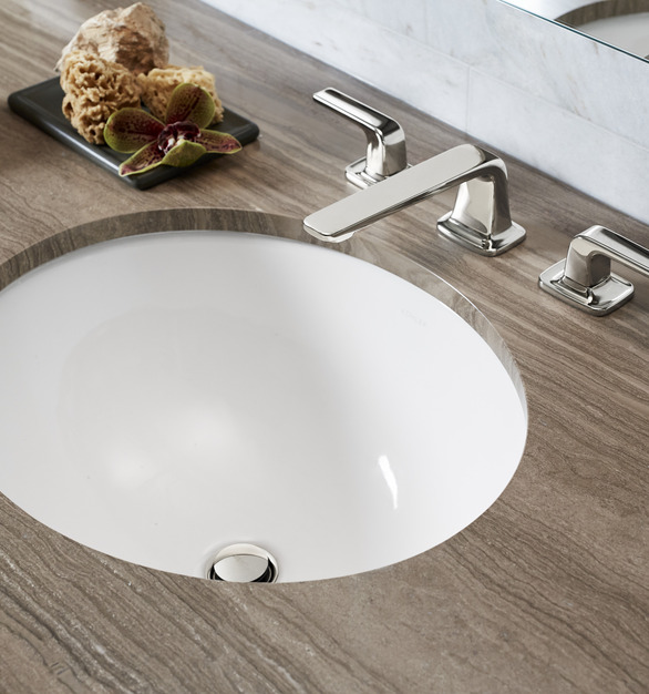 Kohler Kallista Wanda Vista Tower Hotel Condo Bathroom Sink Design