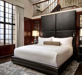 Kohler Marriott Sinclair Hotel Fort Worth Texas DALSN Presidential Bedroom Hospitality Design
