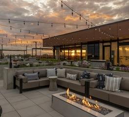 LakeHaus Rooftop-Patio Twilight 0061-130d203cafda35c17236f07af8de8477