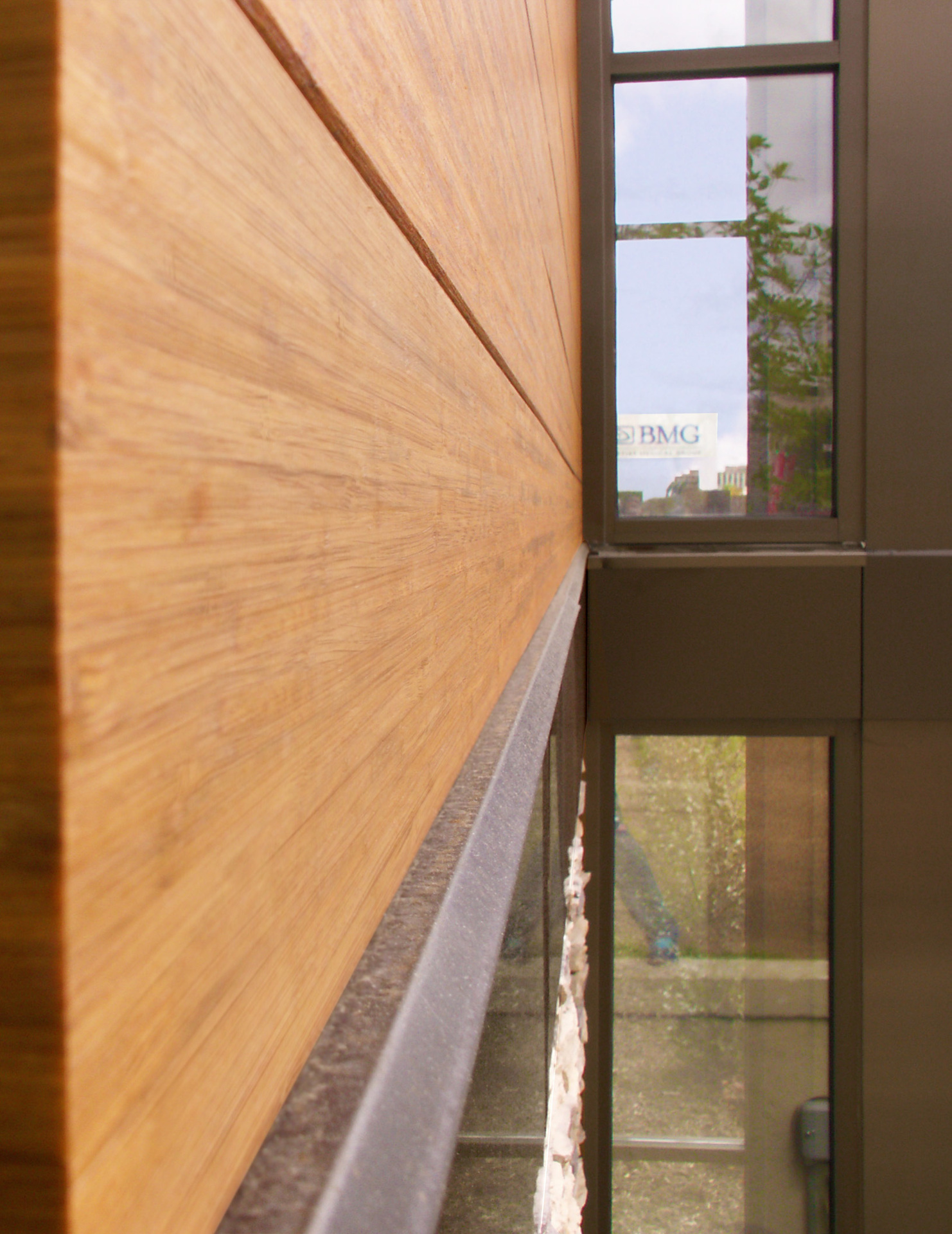 The use of Lamboo® Rainscreen™ - Exterior Siding/Cladding is seen throughout the final design.