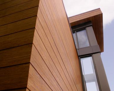 Baptist Medical Group features Lamboo® Rainscreen™ - Exterior Siding/Cladding & Lamboo® Rainscreen™ - Soffit throughout the exterior.