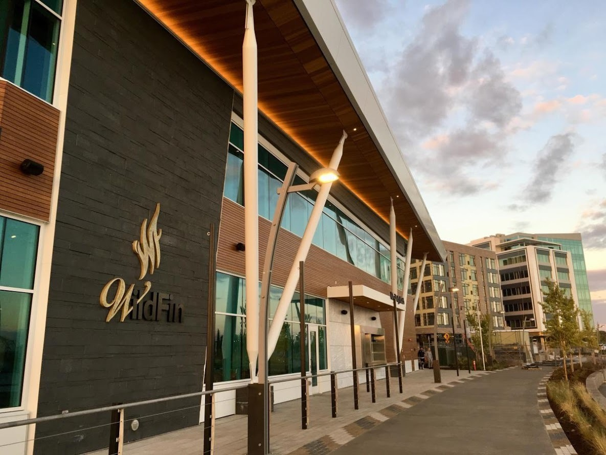 Featured at the Vancouver Waterfront is Lamboo® Rainscreen™ - Exterior Cladding.