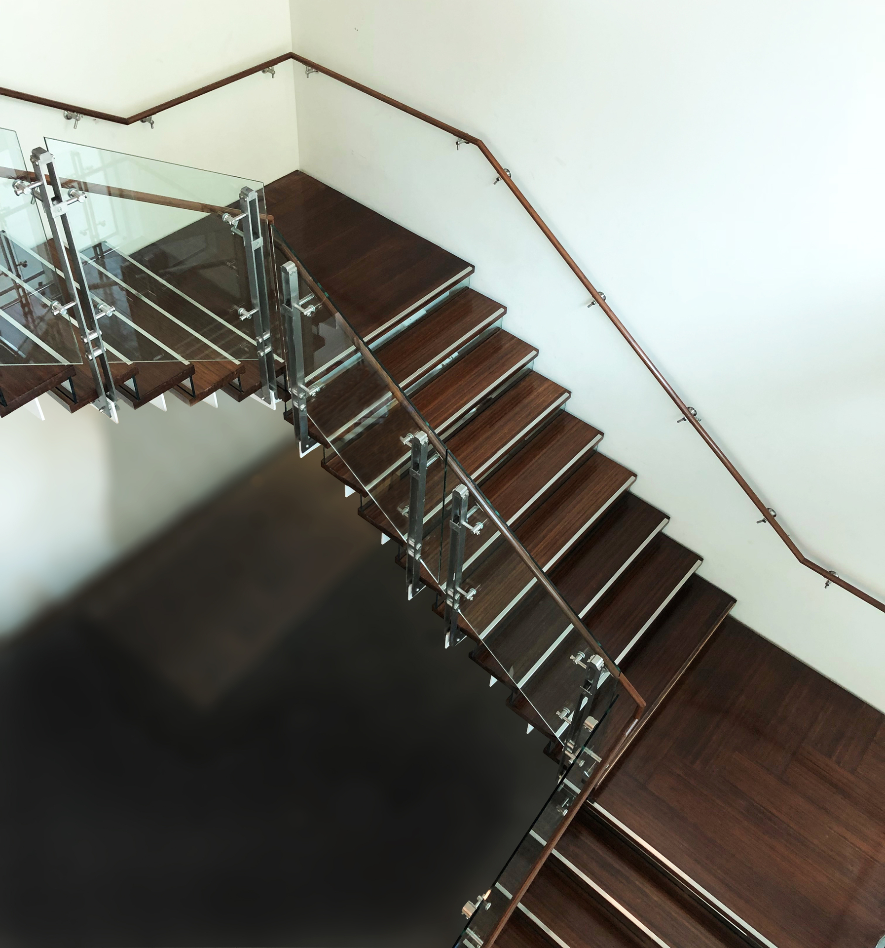 Lamboo® Surface™ - Stair & Handrail featured in the interior of Vancouver Waterfront.