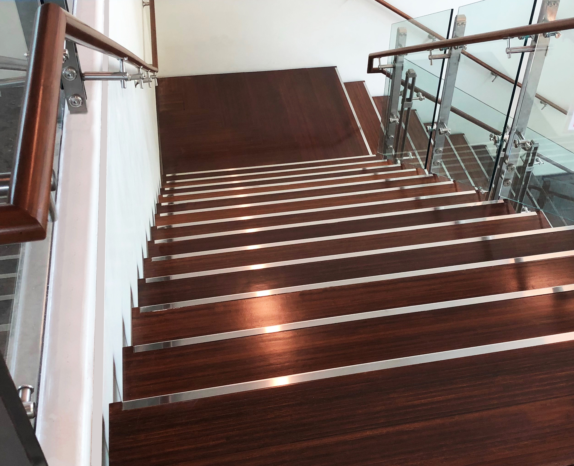 Vancouver Waterfront, located in Vancouver, Washington, features Lamboo® Surface™ - Stair & Handrail in the final design.