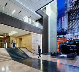 Large lobby interior design
