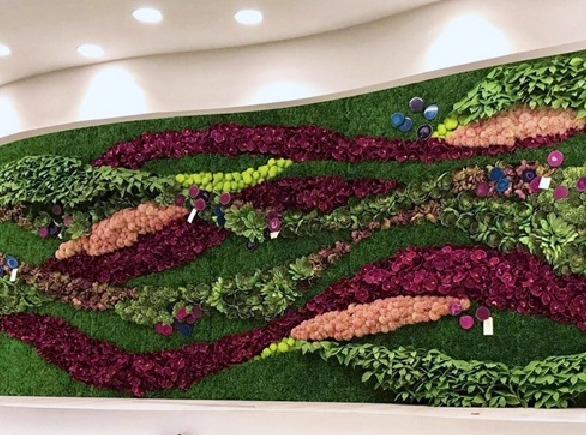 Gorgeous Organic Wall Art that LDF  Silk created.