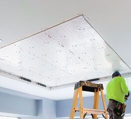 LED Light Ceiling Installation at the Infinity Group Office in New York City