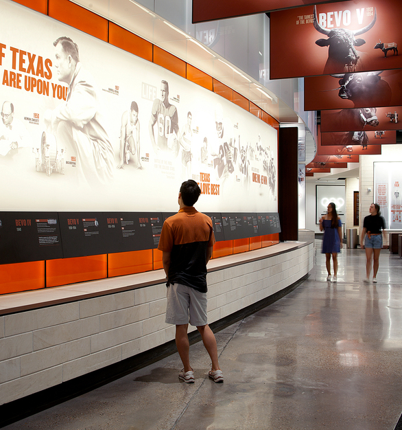 Students, faculty and visitors of the university can visit the Athletics Hall of Fame to learn about and pay homage to the previous student athletes.