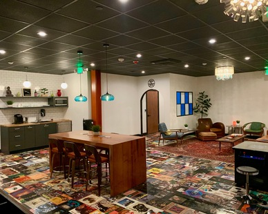 LemonTree Studios is the ultimate playroom for musicians. With acoustical drywall from QuietRock artists can peacefully record in their own rooms or relax in the lounge without sound from other recording studios.
