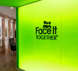 Lenae design face it together offices signage
