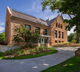 LHB Architects Carleton College Scoville Hall Exterior