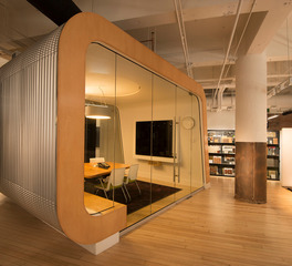 LHB Inc Loose Wiles Minneapolis Office Space Design Private Meeting Room