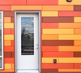 Lime Apartments Exterior View Dri-Design Painted Aluminum Panels