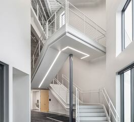 Linear Lighted Staircase | Acuity Brands Lighting | Modern Staircase