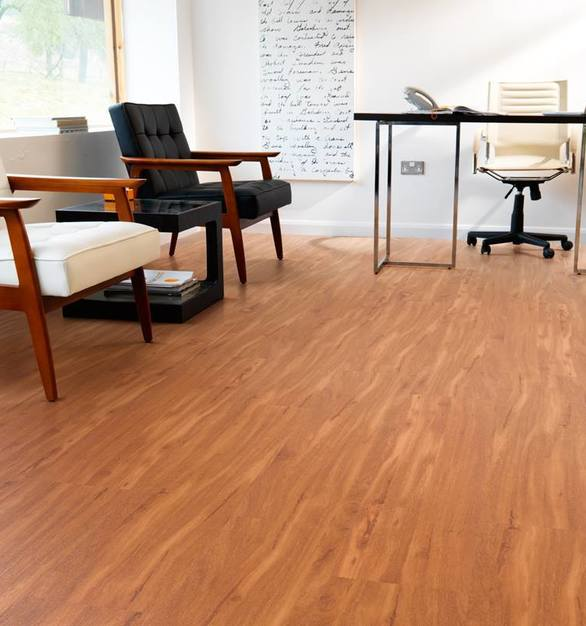 In high impact places such as reception and waiting areas, Karndean Designflooring's faithful reproduction of natural materials and ease of laying in zones can help your client make the right first impression upon visitors and potential customers.