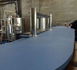 Local Brewery with PaperStone Countertop