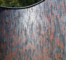 Long Linear Thin Brick Vertical