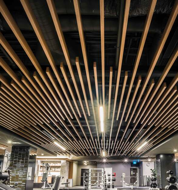 Longboards ceiling system is built for easy install, and creative adaptability.
