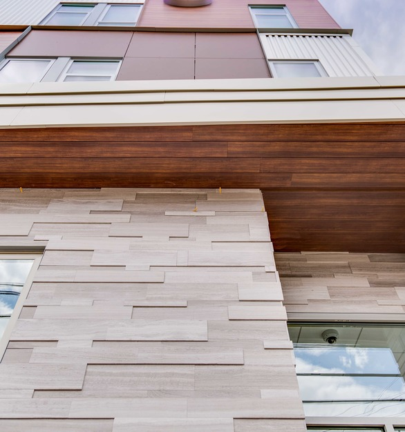 Longboard Products is where style meets sustainability, easy installation, and recyclable, non-combustible aluminum construction.  Trust that when you choose longboard products that you are investing in the superior maintenance free facade and siding product.