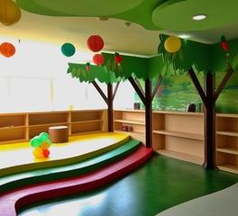 L'Space interior sunnyville montessori school and daycare interior design