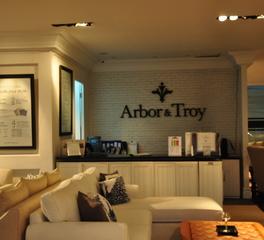 L'space interiors design Arbor and troy furniture store interior design