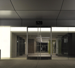LUXFIT LED Light Panels in the Entrance of the Sand Canyon Business Center