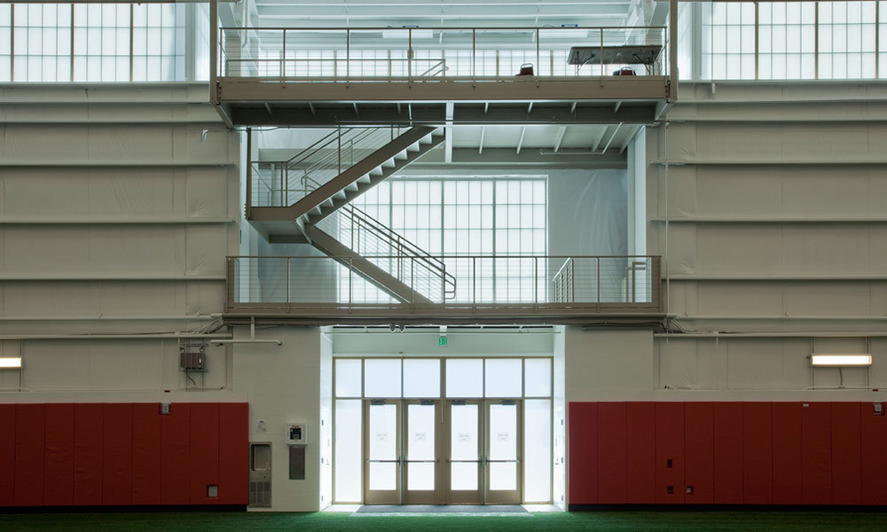 Major Industries provided their Guardian 275 Wall Systems to the indoor sports complex in Oxford, Ohio.