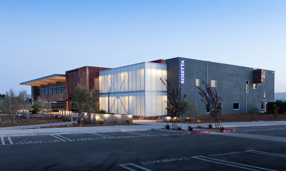 The Guardian 275® Wall System by Major Industries was the perfect touch to the new Rosetta HQ in San Luis Obispo, California.