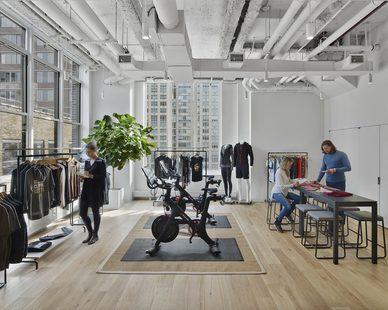 Mancini Duffy Design Peloton Showroom Retail Design