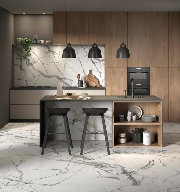 Tile walls and floors from Floor & Decor offer strength, durability, and aesthetic excellence.