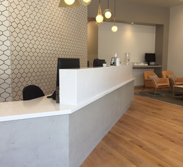Materials Inc One Medical West Hollywoo CA Aria Decorative Surface Lobby Design