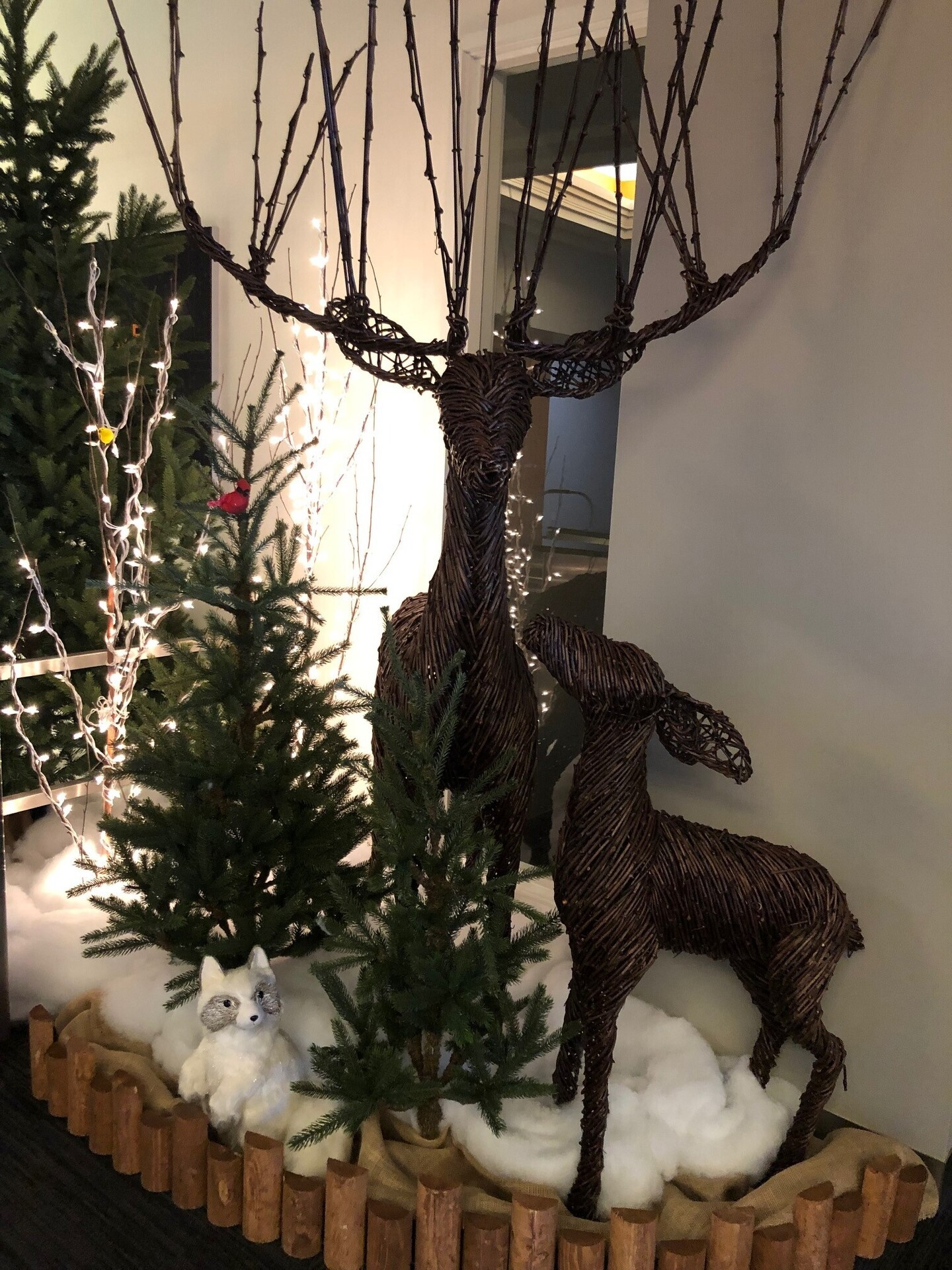 Holiday decor by McCaren Designs doesn't need to be lights and trees, they have the perfect options to choose from to fit your space.