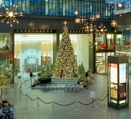 mccaren designs Holiday Lighting retail interior