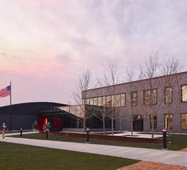 McGough Headquarters Exterior | Raised Access Floors | Underfloor Air Distribution | Tate Inc.