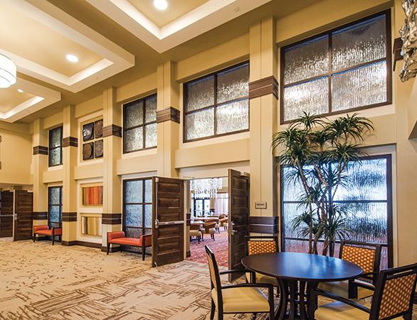 Interior Windows/Partitions at Renaissance Retirement in Sun Lakes, AZ.