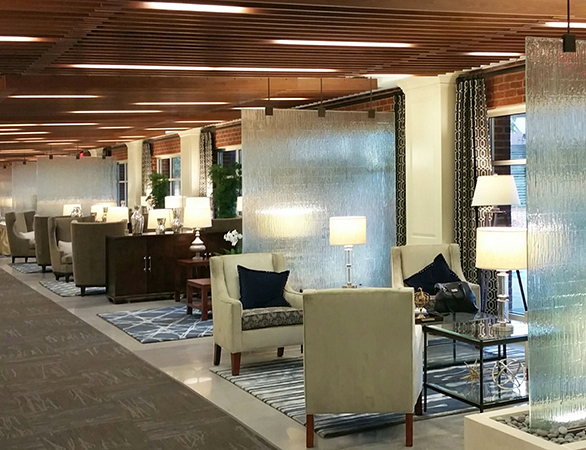 Partition/Divider Panels at Rizzo Conference Center in Chapel Hill, NC.