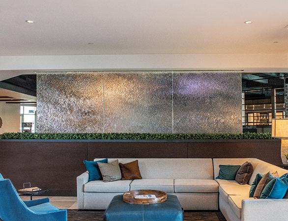 Partition/Privacy Panels at Sheraton Mesa Hotel in Mesa, AZ.