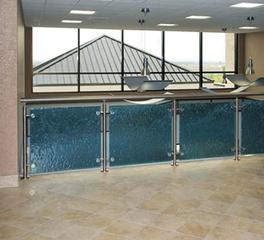 Meltdown Glass Art & Design Railings & Balustrades Seton Williamson Medical Group