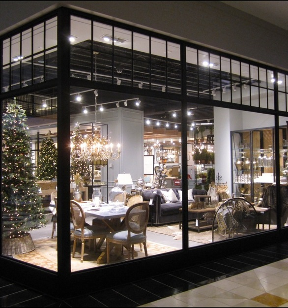 The tubular knocked down framing system makes for an exceptionally easy installation, by Metal Boutique.
