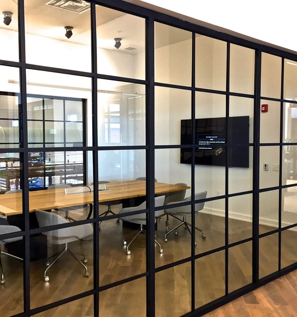 Metal Boutique's completely welded Wide-Line 2600-S Swing Door system creates a seamless look with unrivaled durability.