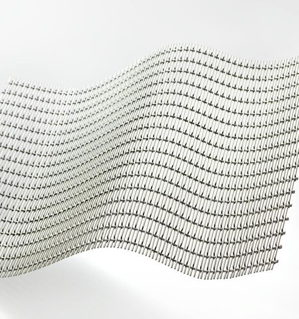 Omega 1520 by GKD Metal Fabrics.