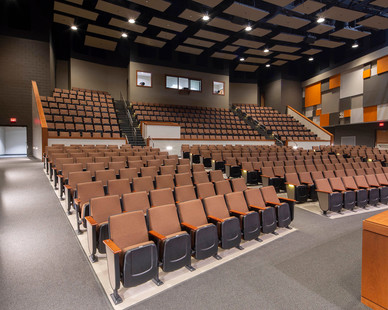 Illuminate your auditorium properly with lighting fixtures by Meteor Lighting.