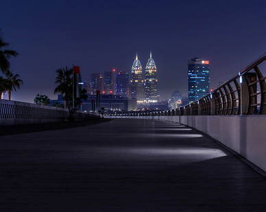Located in beautiful Dubai, these SP-8S lights will illuminate your project in an efficient and creative way.