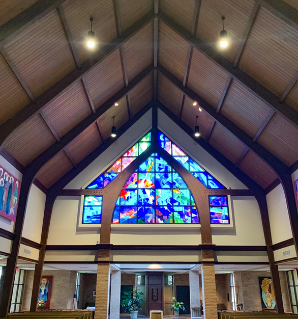 St. Alysius Church in Baton Rouge, Louisiana is a vibrant, welcoming community of peace, love, and unity. This church was looking to retrofit old halogen lamps and seventeen Atria 10's was used to illuminate it's interiors.